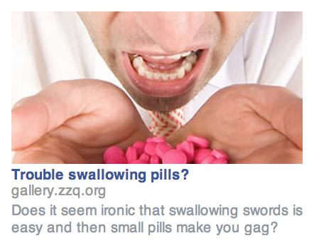 Targeting-Sword-Swallower-With-Facebook-Ads
